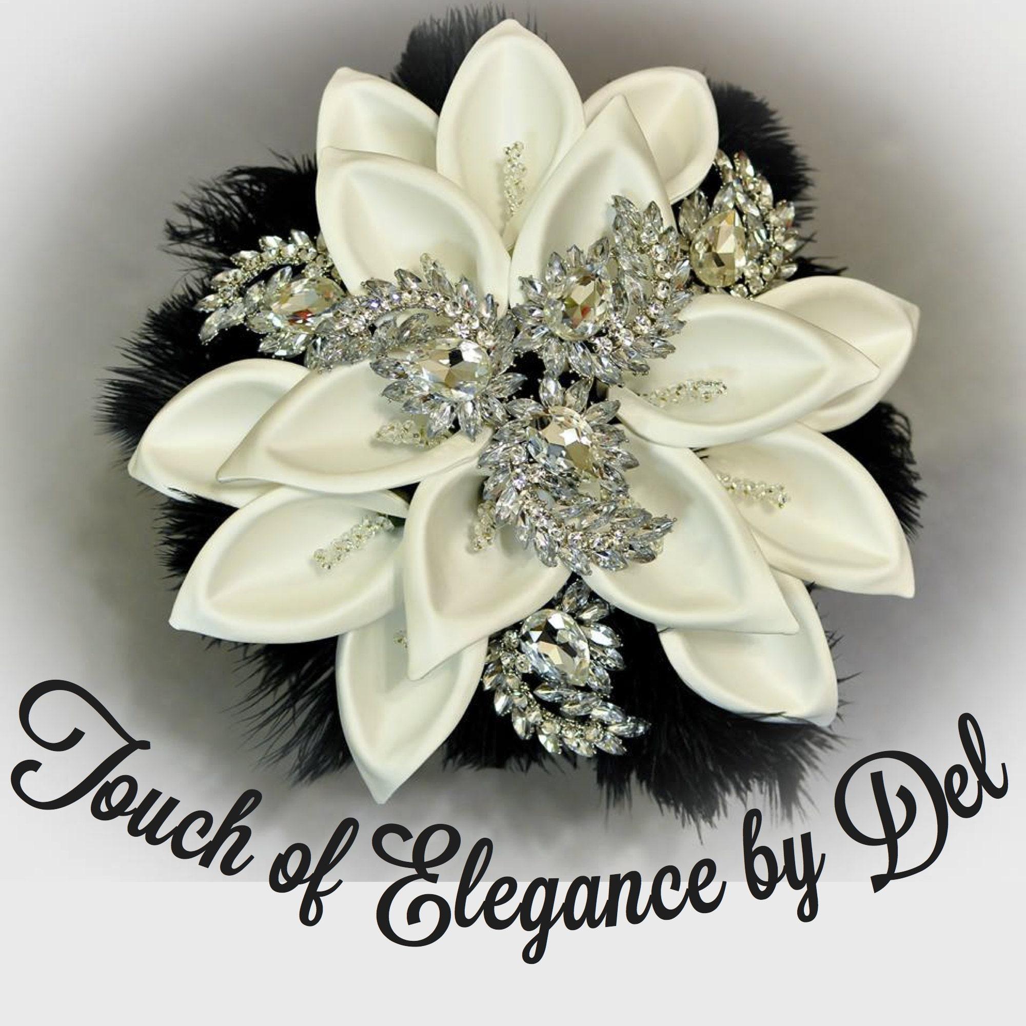 Flower Girl Baskets Canada : Royal blue and white bridal bouquet ring bearer pillow