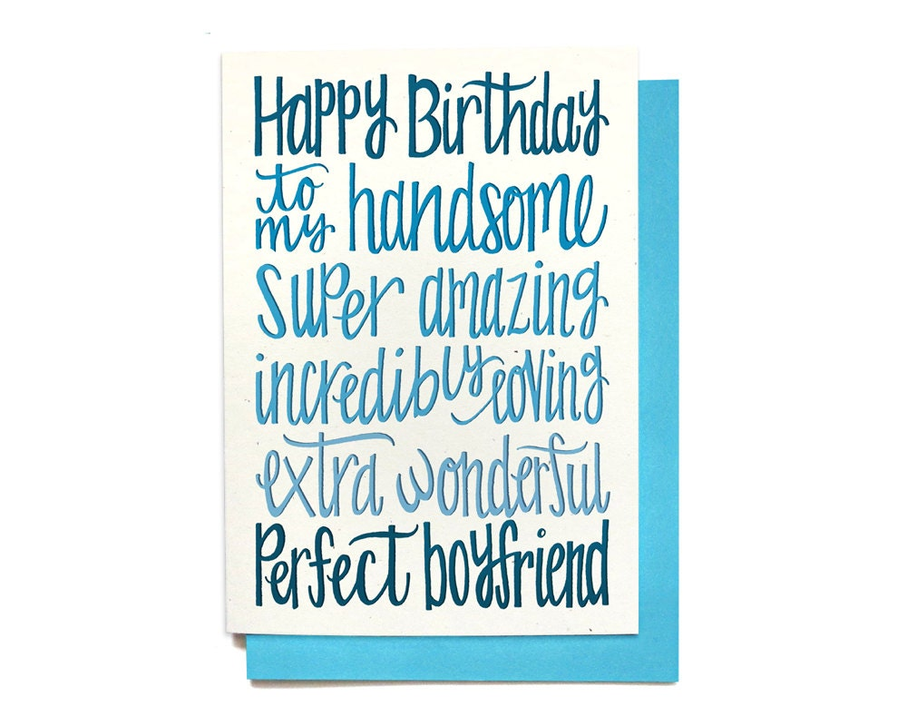Birthday Cards For Boyfriend Printable Free ~ Happy birthday boyfriend cards gangcraft