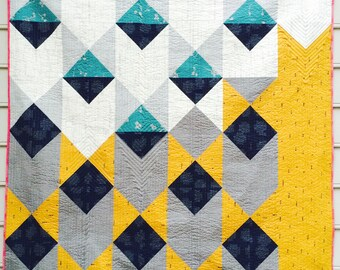 Moorish Pyramids Quilt Pattern