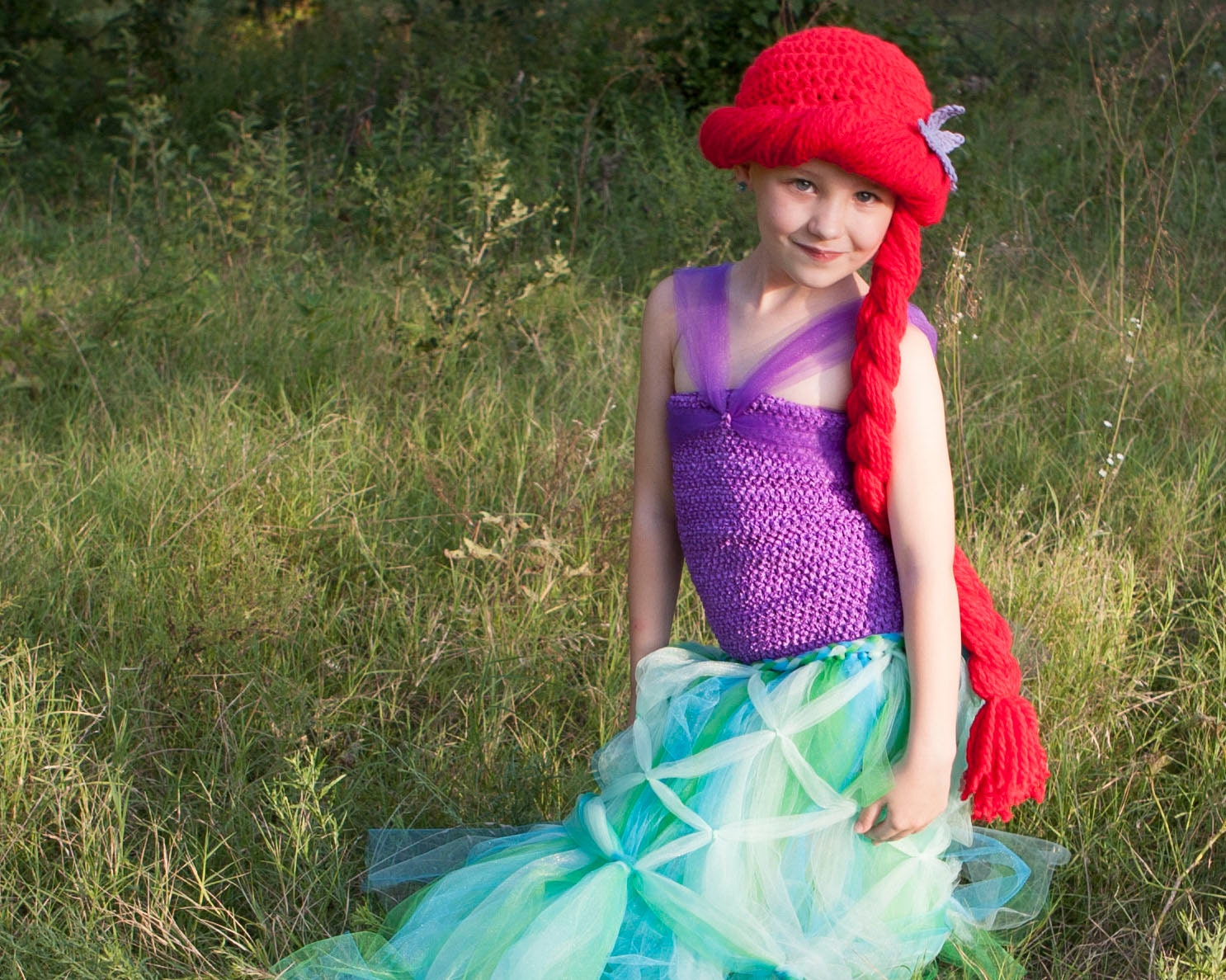 Ariel Hat Little Mermaid Baby Costume