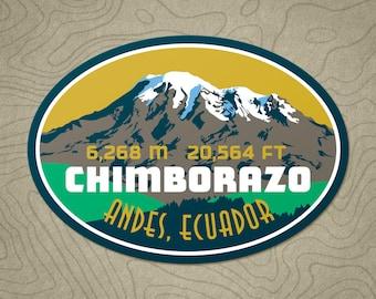 Chimborazo Decal Sticker