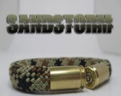 Sandstorm Military and Second Amendment Right to Bear Arms Bullet Casing Support Bracelet