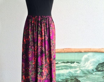 1960's Psychedelic Maxi