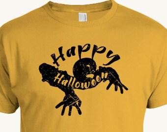 Zombie Halloween T-shirt, Happy Halloween, Undead, Walker
