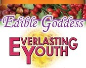 EDIBLE GODDESS BUNDLE ~ Most Popular Products ~ 4 Chocolate Goldies, 1 - 50ml Love One Another, 300g Everlasting Vitality & Youth