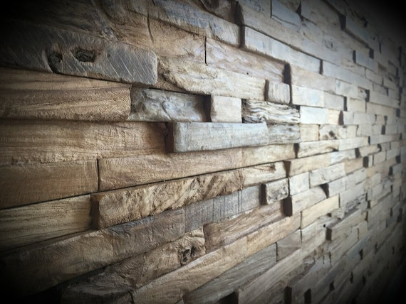 Inject Warmth Into Your Home With Reclaimed Wood Wall: Reclaimed Wood Wall. Rustic Wall Panels. By TicinoDesign