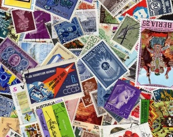 100 Diff. Worldwide Stamps, Stamp Collection, Worldwide Stamps, World Postage Stamps,Lot of stamps,Postage Stamps, Stamps