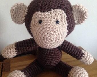 Morris the Monkey - Amigurumi/Crochet