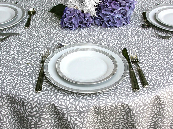 round french provencal 42 to 60 inches coated table cloth. Black Bedroom Furniture Sets. Home Design Ideas