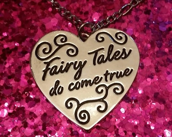 Fairytales Do Come True Heart Necklace