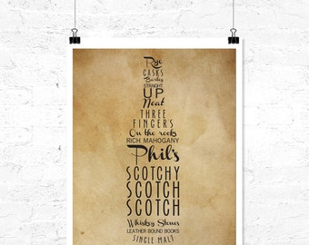 Scotchy, Scotch, Scotch Custom Digital Print