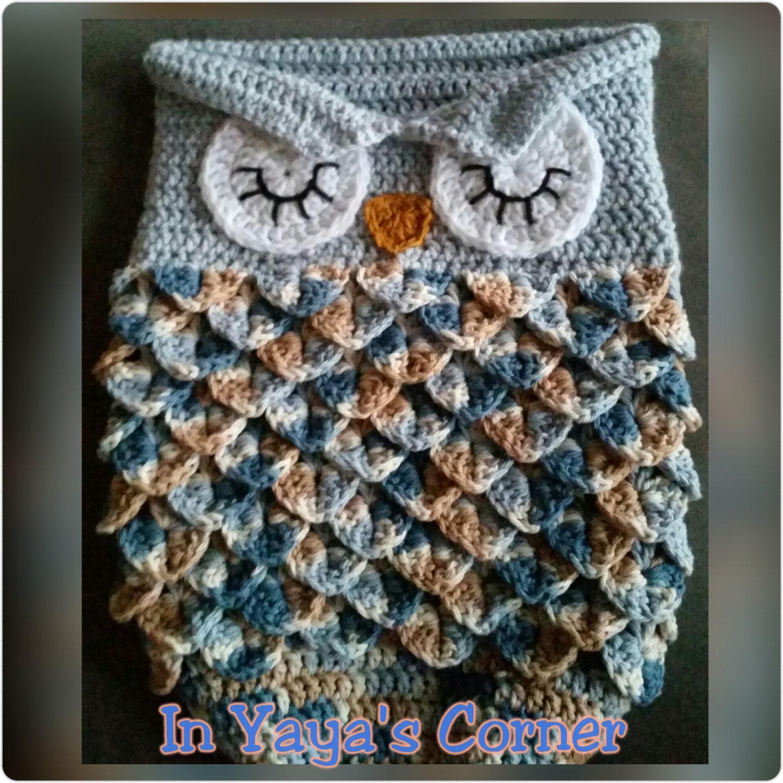Exelent Owl Cocoon Crochet Pattern Inspiration - Easy Scarf Knitting ...