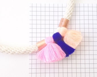 Miffy Three Tassel Necklace