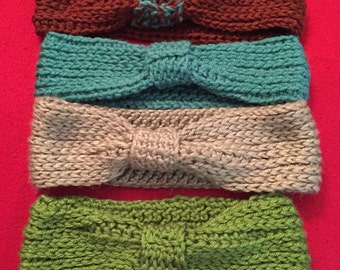 Crochet Ear Warmers Made to Order in any Color