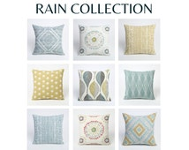 Rain Collection 24 inch pillow cover // 24 x 24 pillow cover // pillow covers 24 x 24-1EYN