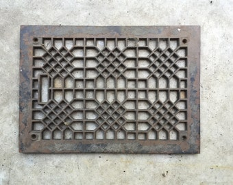 Antique Victorian Heating Grate