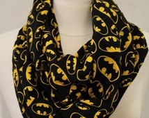 Knitting Pattern Batman Scarf : Unique batman scarf related items Etsy