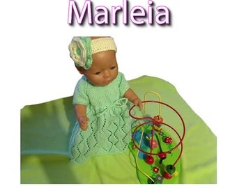 MARLEIA To fit Baby Born and 16 or 17 inch similar size dolls