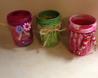 Jelly Jar Votives