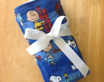 Charlie Brown Burp Clothes