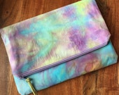 Clutch Bag - Hand Dyed Cl...