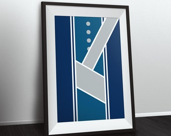 Bluecoats Uniform Poster
