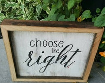 Choose the Right Rustic Handpainted Sign