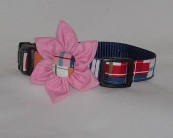 "The ""Chloe"" Dog Flower Collar"