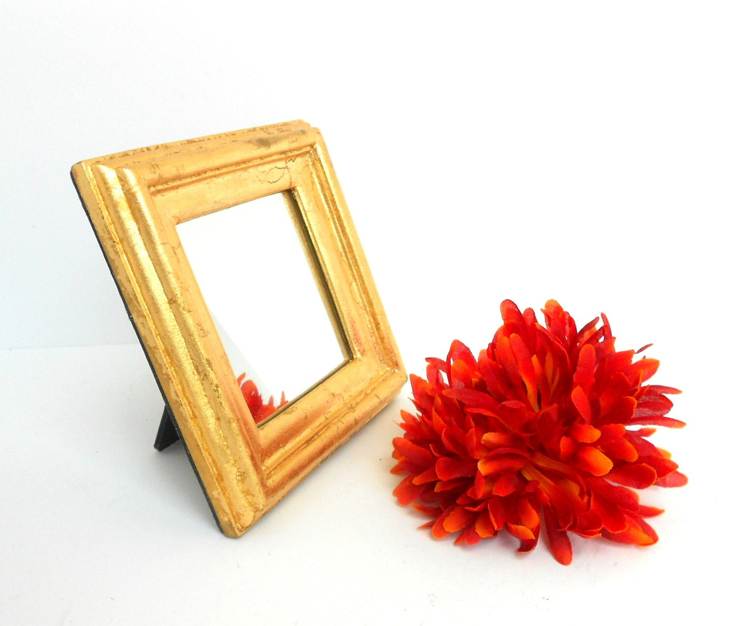 Mirror small wall mirror decorative mirror gold for Small decorative mirrors