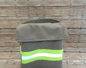 Firefighter insulated lunch bag