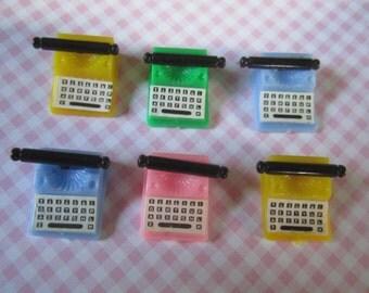 Dollhouse Miniature Typewriter Vintage Plastic
