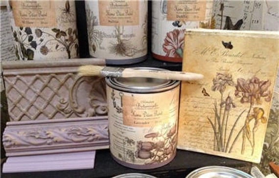 CHALKY PAINT Caromal Colours Monahan Botanicals by MaggiMarket
