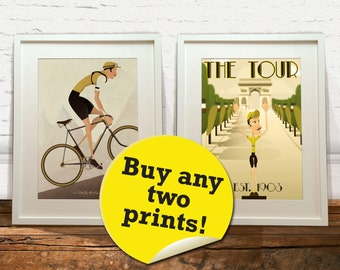 Mix and match, buy any two of our prints!