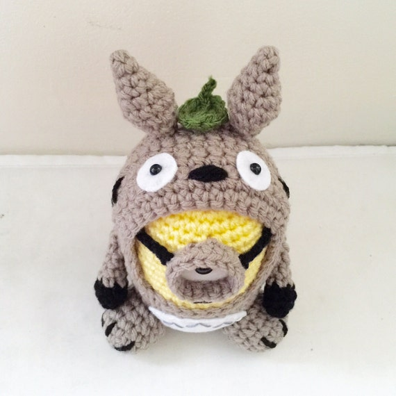 Totoro Minion PDF Pattern Crochet for Amigurumi Doll Plush ...