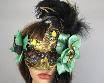 Halloween Masquerade Feathers Mask Ball Mask Costume Ball Halloween Costume Carnival Costume Party