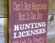 Unique hunting camp sign related items etsy for How much is a fishing license in illinois