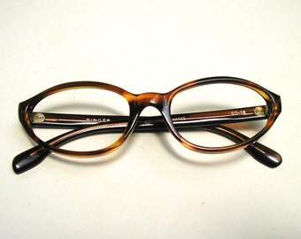 Vtg N.O.S. 1960's Cat Eye Glasses