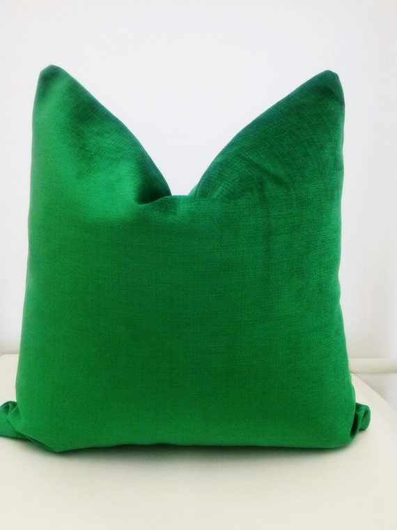 Green Velvet Pillow Covergreen Pillow Covermodern By