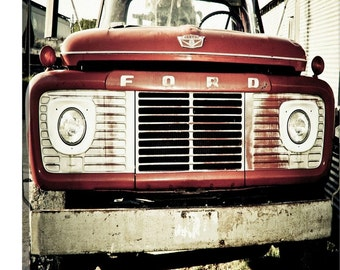 Ford Truck Canvas or Print