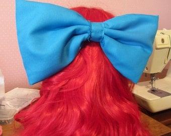 Blue Ariel/Belle Cosplay Bow