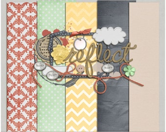 Hope and Dream Kit - Papers & Elements for Digital Scrapbooking