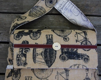Diaper/ Messenger/ Anything Bag
