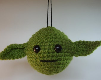Star Wars inspired  Yoda Bauble