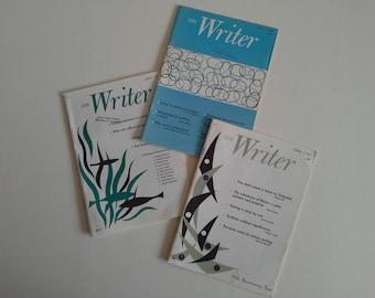 3 Vintage The Writer Magazine.