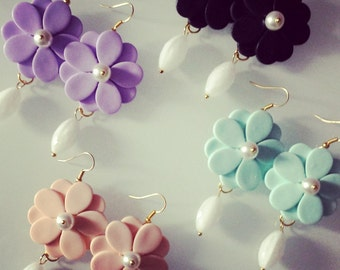 Earrings Flowers-Outlet Prices
