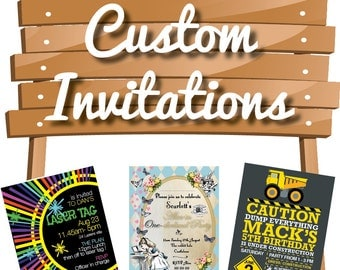 Instant Printable Invitation - DIY CUSTOM Printable Invitation