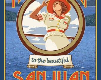 San Juans (Art Prints available in multiple sizes)