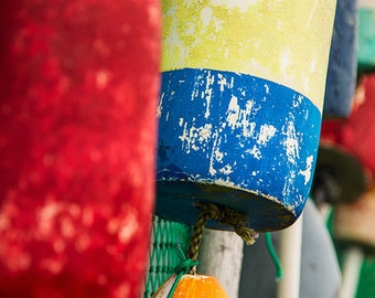Colorful Bouys (Art Prints available in multiple sizes)