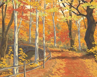 New England Fall Colors (Art Prints available in multiple sizes)