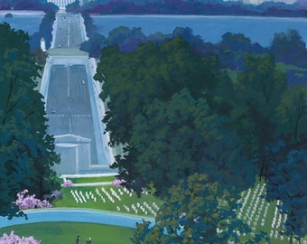 Arlington National Cemetery - Washington DC (Art Prints available in multiple sizes)